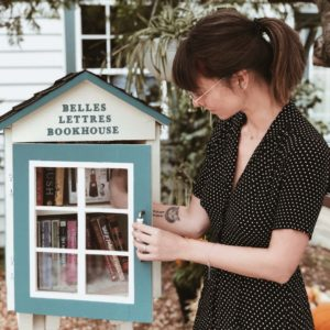 Sharing books with the world is my favorite way to give back and unite readers.