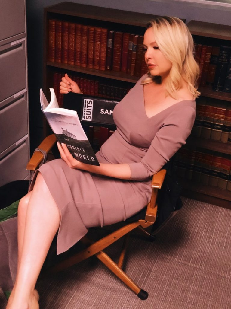 Katherine Heigl Reading The Possible World