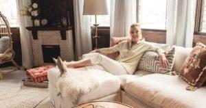 Katherine Heigl's World Market Home Office Makeover