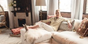 Katherine Heigl's World Market Home Office Makeover
